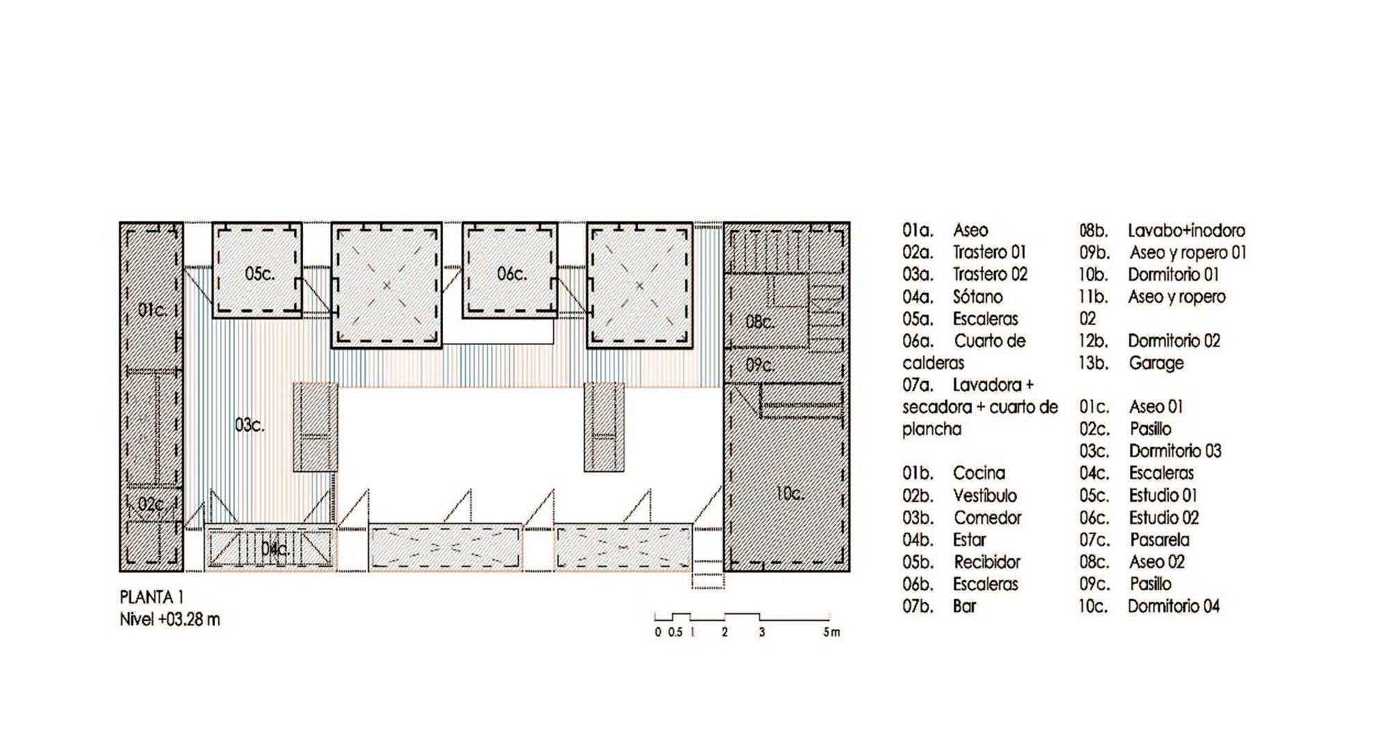 Galer a de vivienda entre medianeras casa fuensanta - Muka arquitectura ...