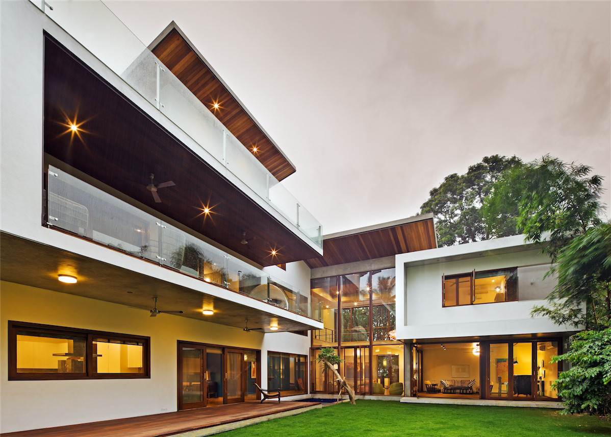 Casa Bhuwalka / Khosla Associates, © Shamanth Patil J