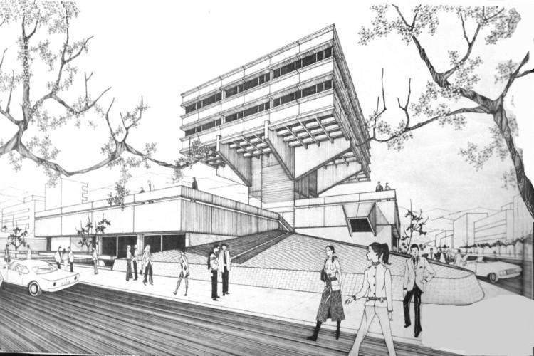 Milton Barragán, 80 años de arquitectura brutalista en Ecuador, CIESPAL. Image Cortesía de Archivo personal de Milton Barragán