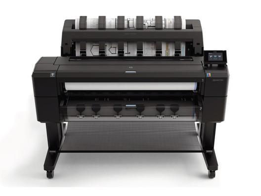 Inyección de Tinta: Impresora de gran formato Designjet T1500 / HP | Intel