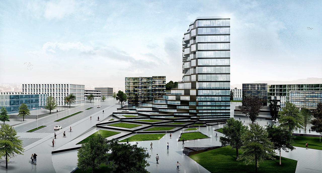 Paolo Venturella Designed Office Building To Feature