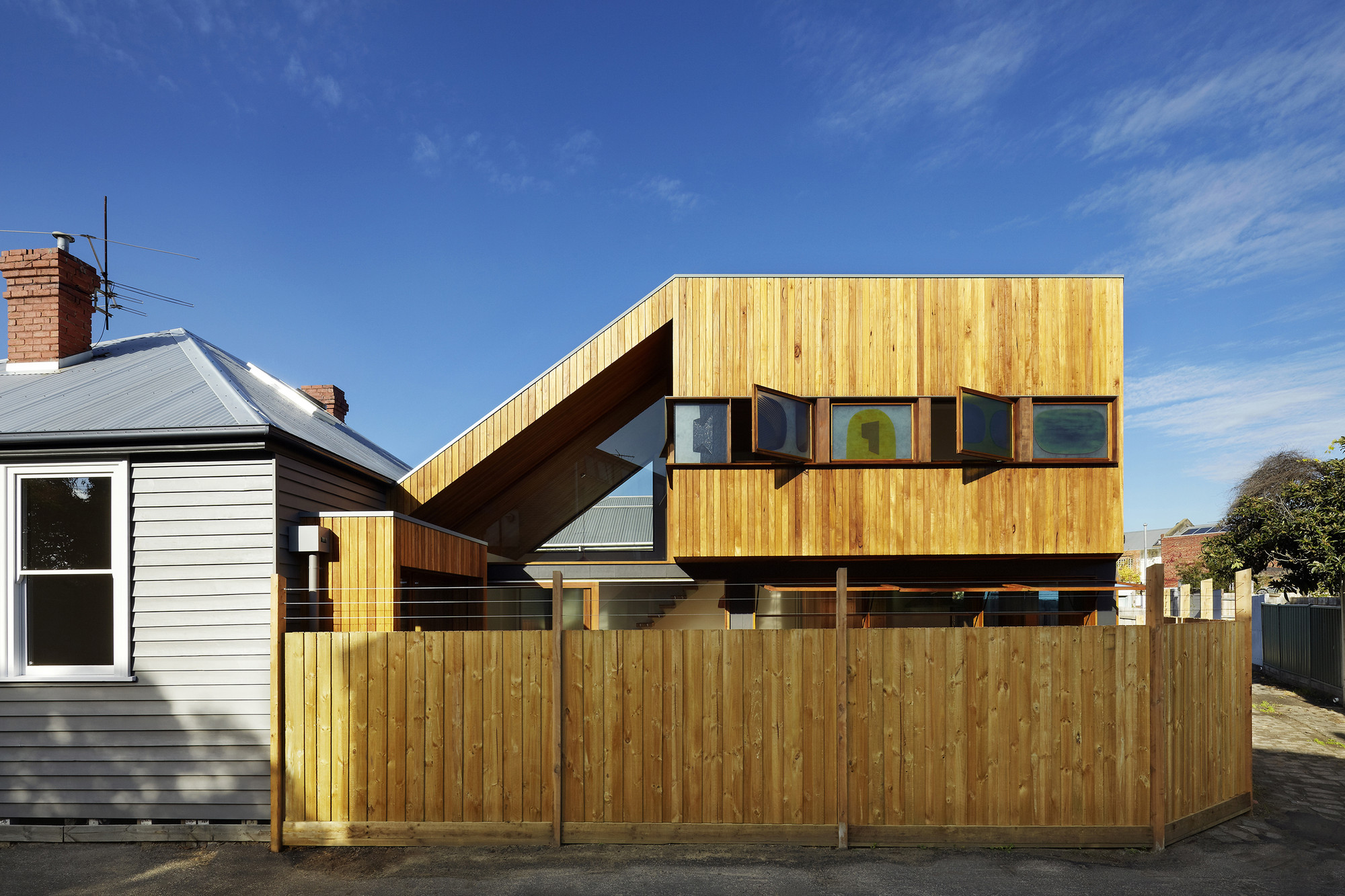 Casa Fenwick Street / Julie Firkin Architects, © Christine Francis