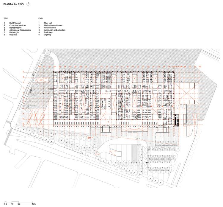 Hospital el carmen de maip bbats consulting projects for Planta arquitectonica pdf