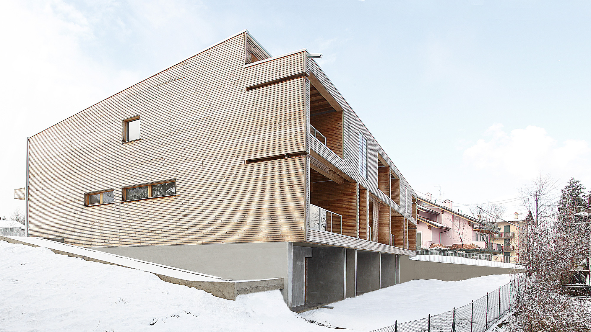 Residential Wood Building in Selvino / Camillo Botticini, © Luca Santiago Mora