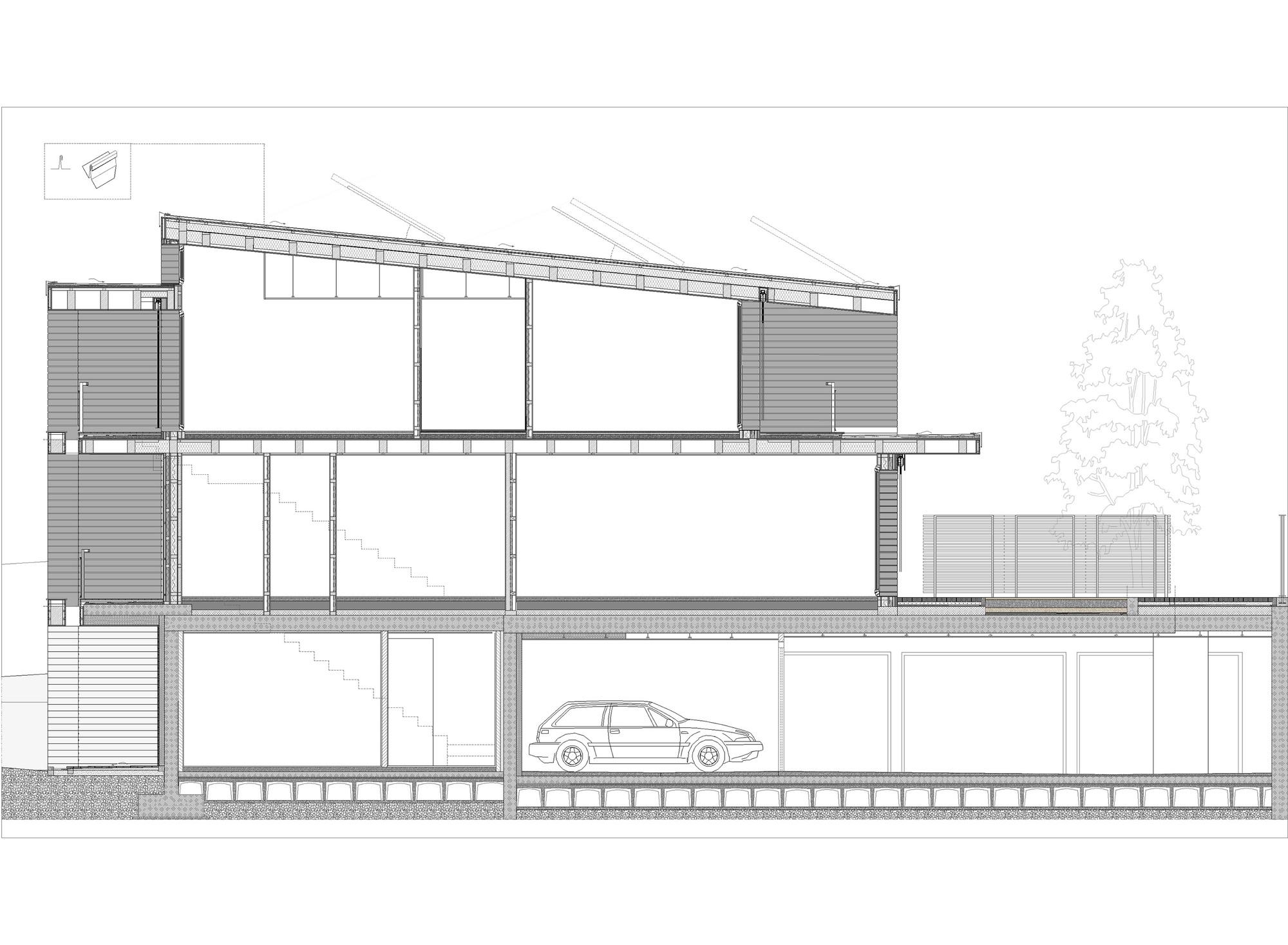 Residential Wood Building In Selvino Camillo Botticini
