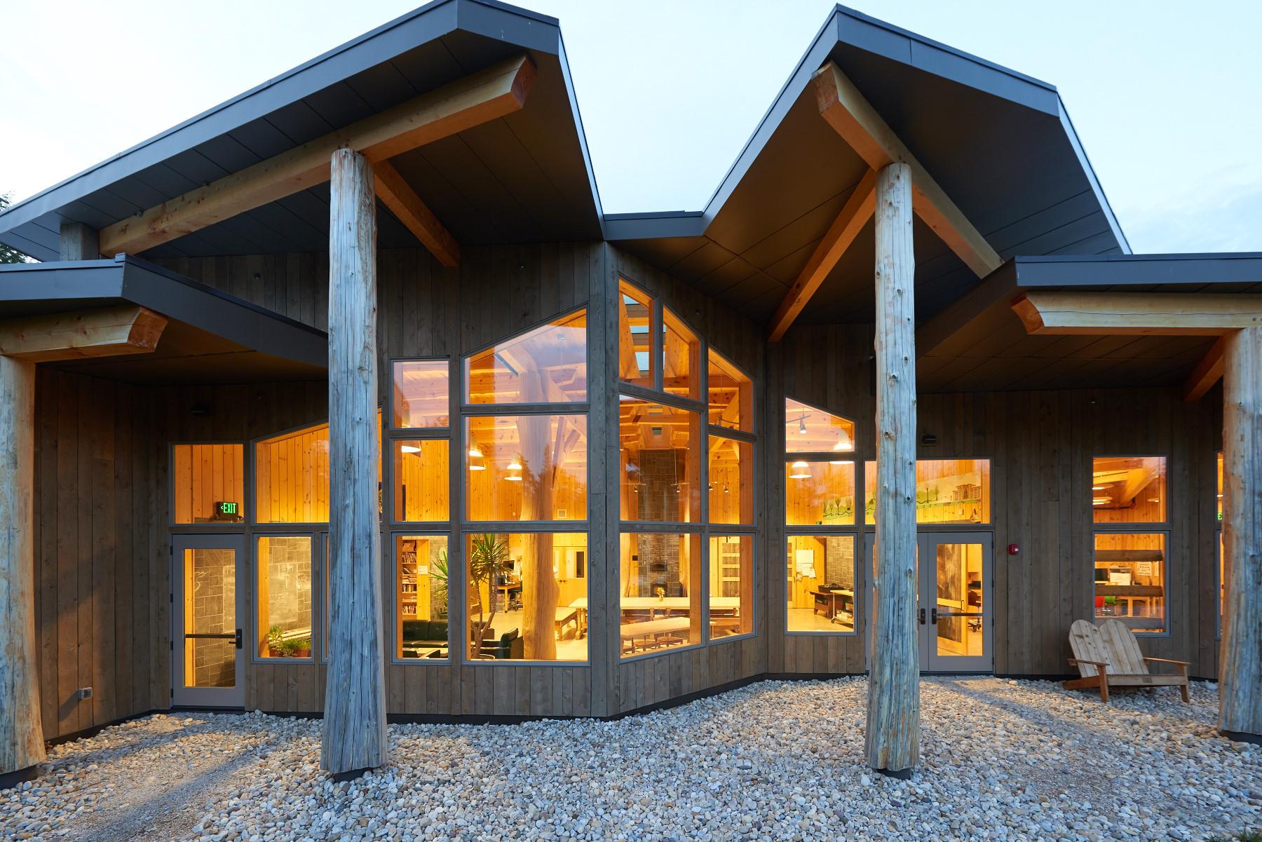 2015 Wood Design Award Winners Announced, Burr Burton Academy Mountain Campus / Bensonwood +Annette Dey, PE © Marvin Windows