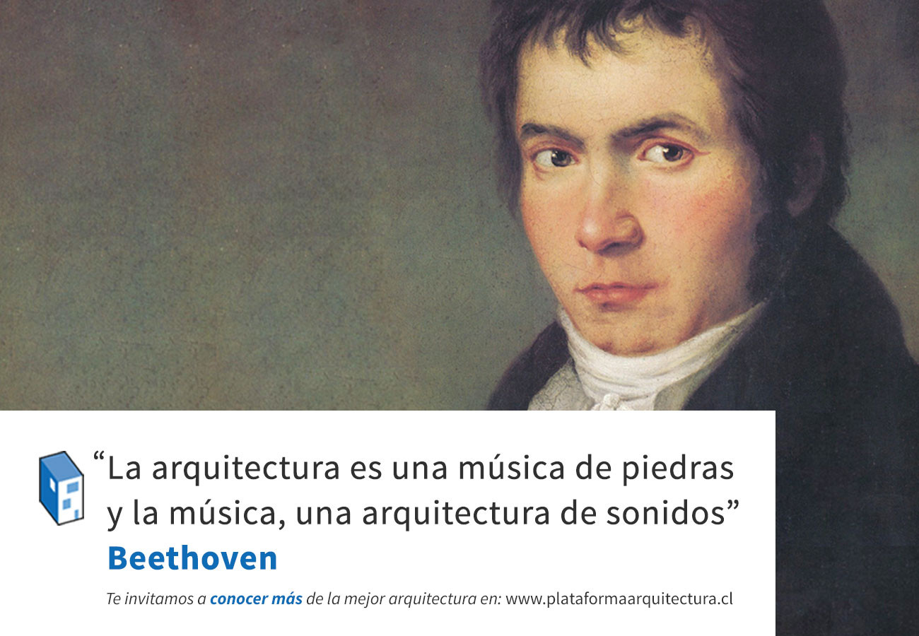 Frases beethoven arquitectura y m sica archdaily m xico for Investigar sobre la arquitectura