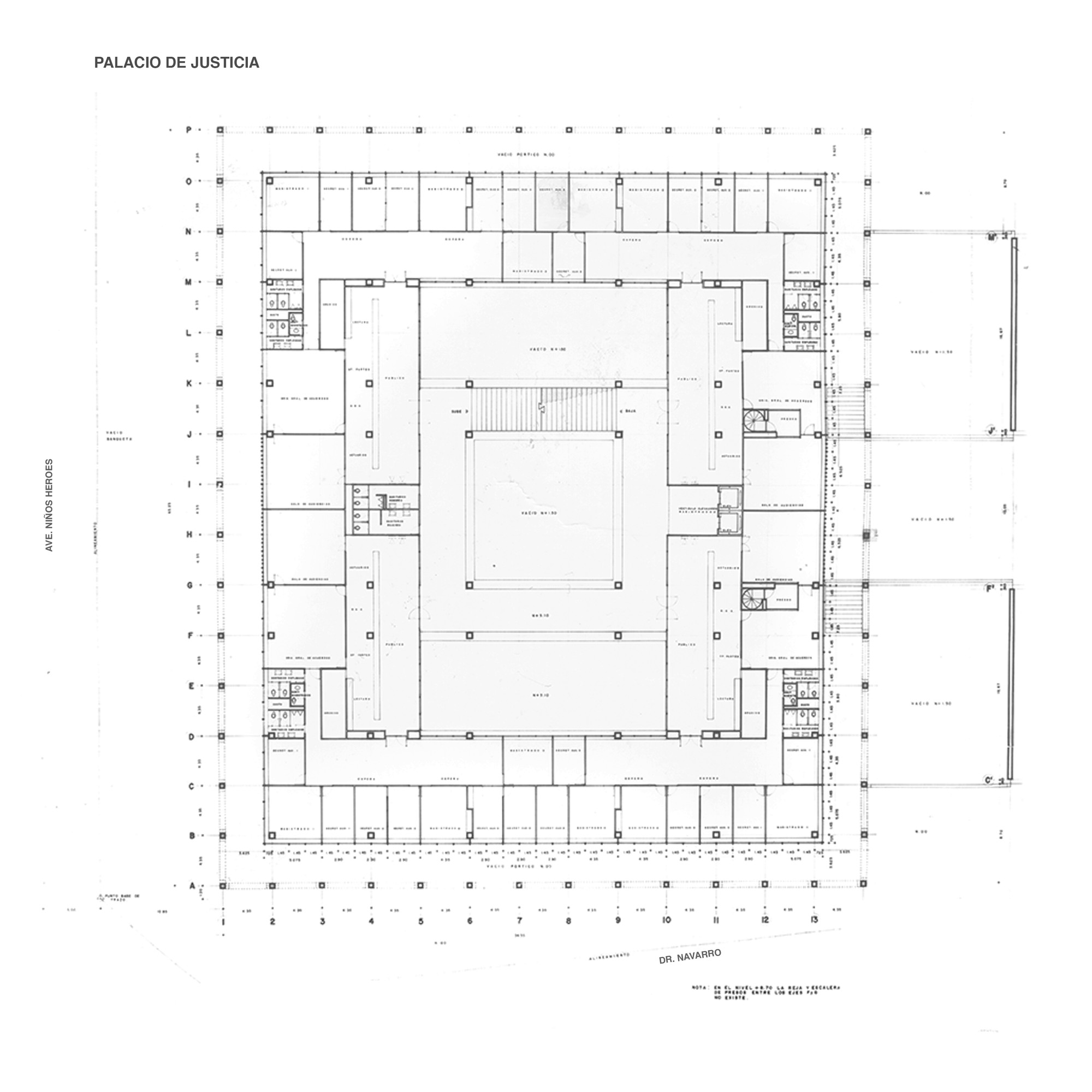 Clásicos de Arquitectura: Palacio de Justicia / Juan Sordo Madaleno