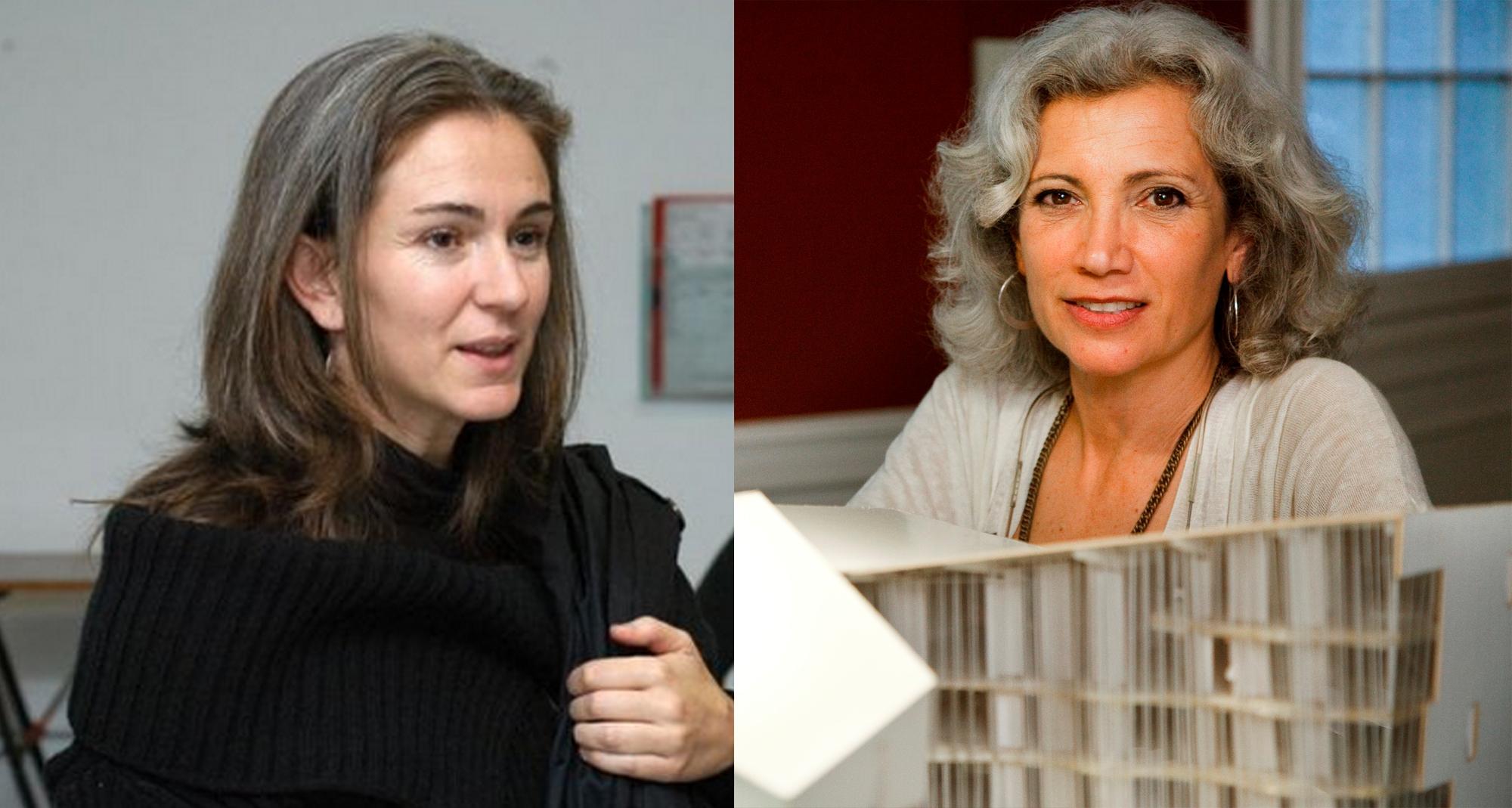 Carme Pinós y Marta Pelegrín, españolas finalistas en premios Women in Architecture 2015, Marta Pelegrín y Carme Pinós. Image