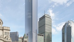 Pei Cobb Freed Breaks Ground on Boston's Tallest Residential Tower