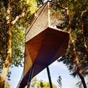 9 casas na rvore que far o voc voltar inf ncia - Maison tree snake houses luis tiago rebelo andrade ...