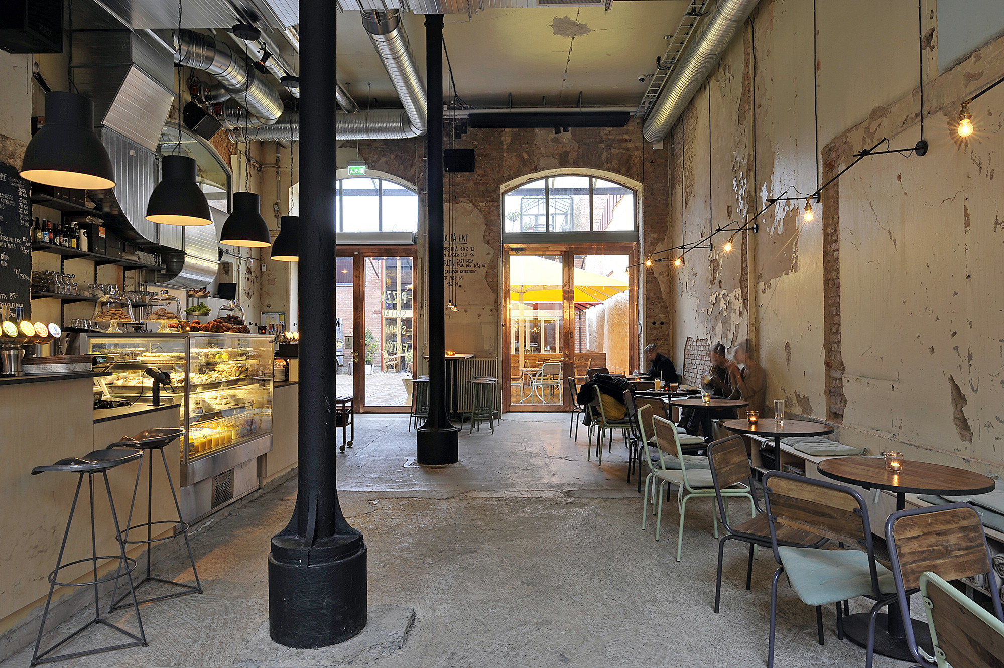 Kafe Magasinet / Robach Arkitektur, © Henrik Lindén
