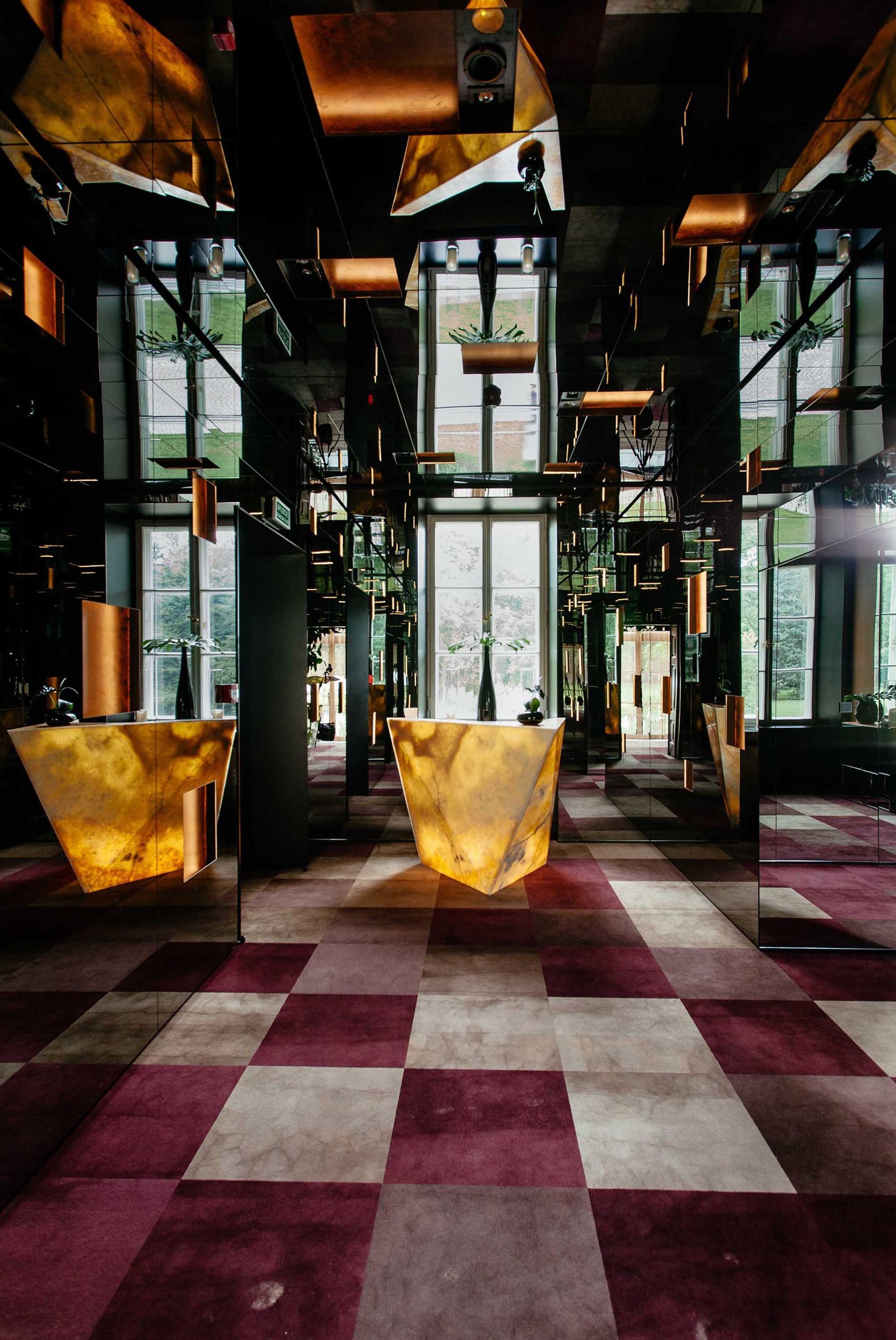 Estufa e Restaurante The New Orangery / WWAA