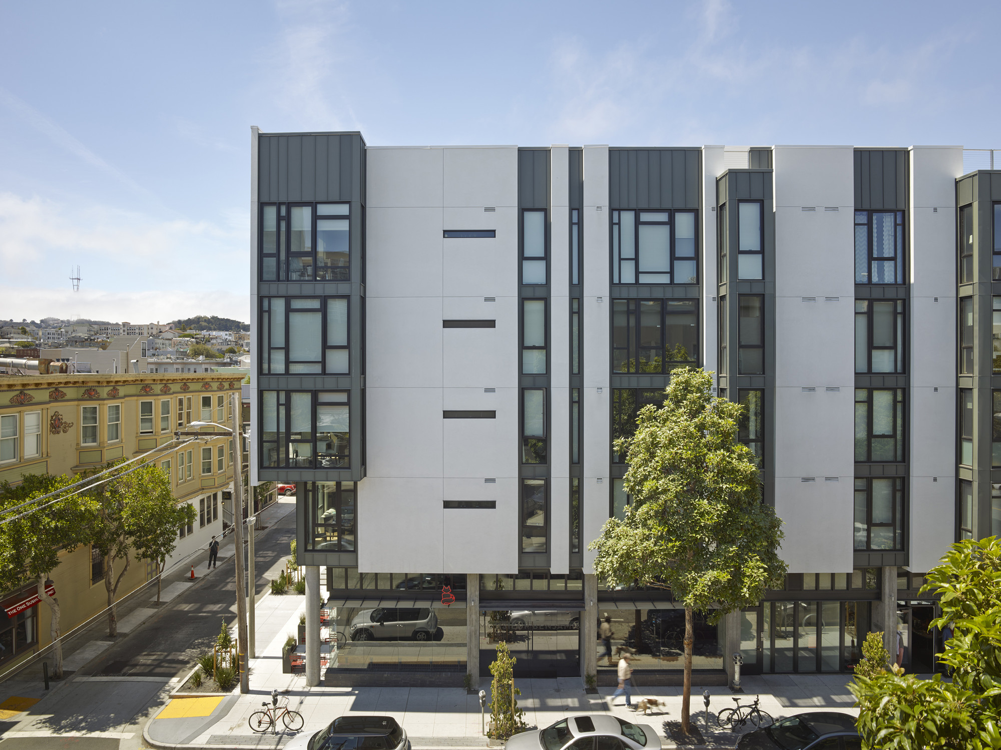 300 Ivy Street David Baker Architects Archdaily