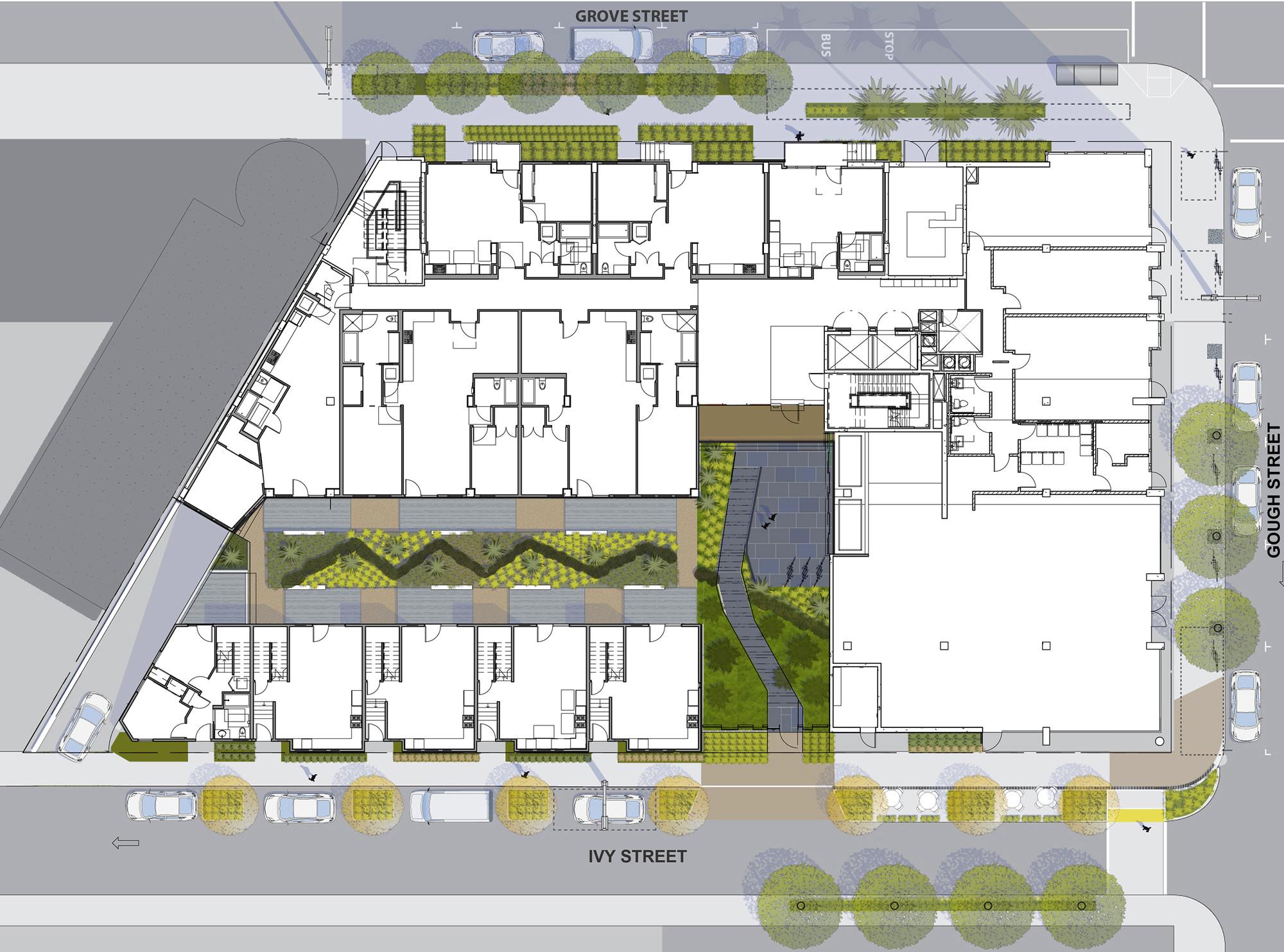 300 Ivy Street / David Baker Architects | ArchDaily