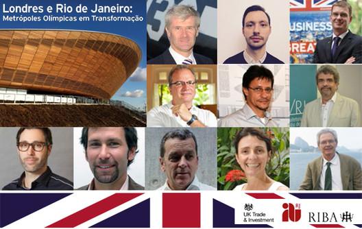 """IAB-RJ promove o seminário """"Londres e Rio de Janeiro – Metrópoles Olímpicas em Transformação."""