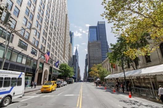 4 projetos para transformar a 42nd Street de Nova Iorque em um lugar habitável e livre de carros, © vía Plataforma Urbana