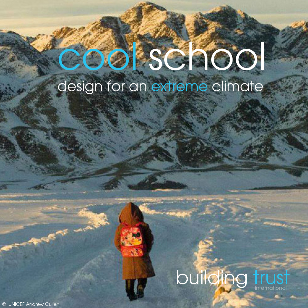 "Competition Seeks Proposals for ""Cool School"" Capable of Withstanding Extreme Mongolian Climate, Courtesy of Building Trust"