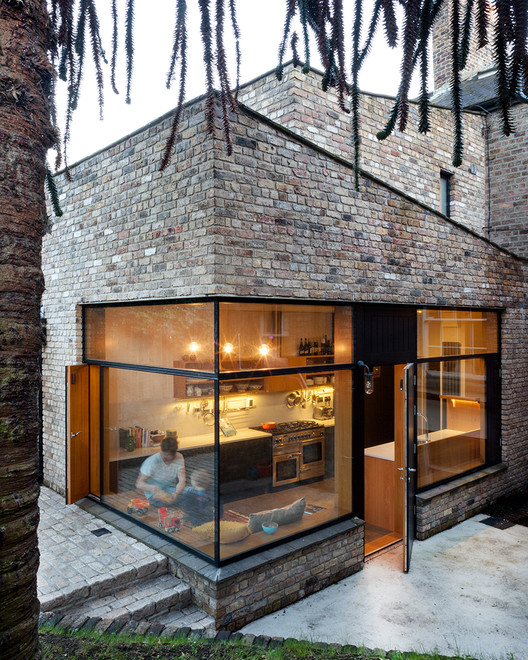Brick Addition / NOJI Architects, © Alice Clancy