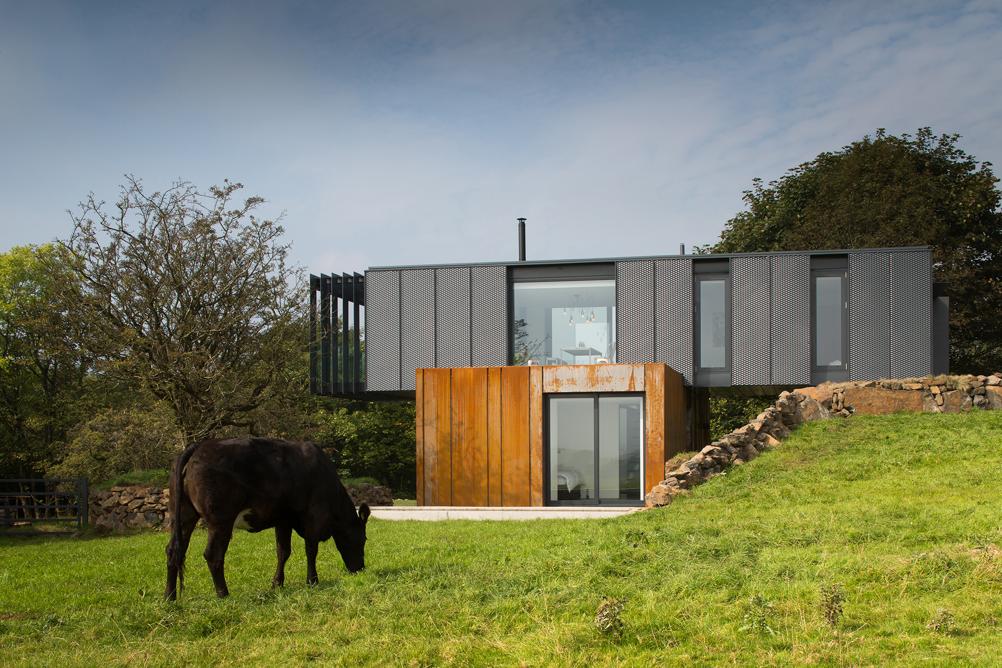 grillagh water house patrick bradley architects archdaily