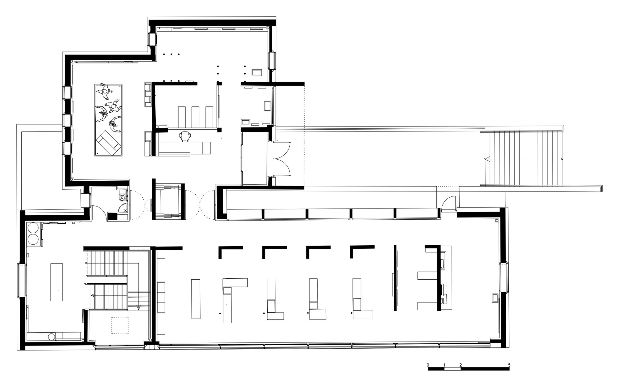 D Exhibition Floor Plan : Gallery of museum the sea in sete c d architecture