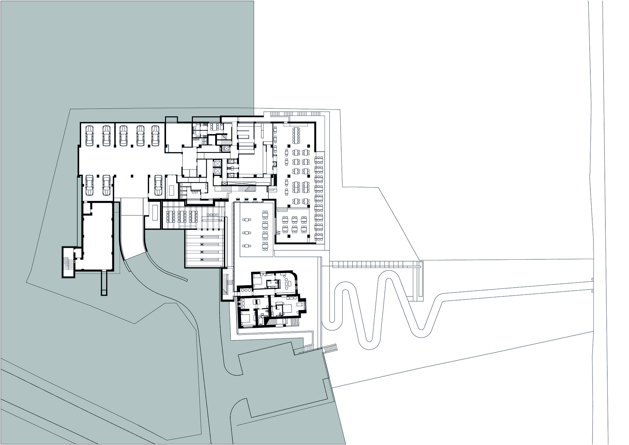 Archdaily Hotel Plan Home Design Ideas