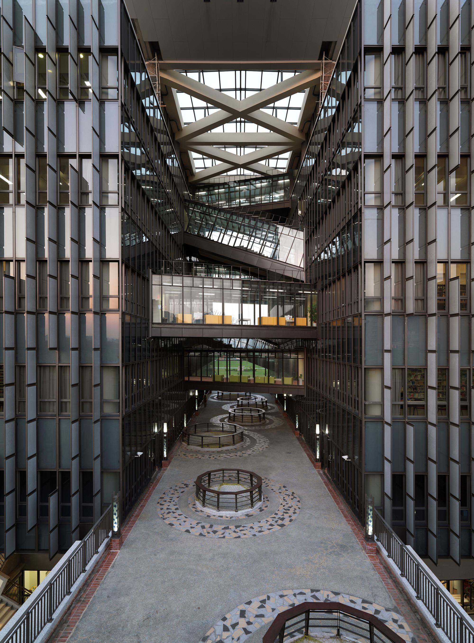 Gallery Of Taipei Univesity Library Liao Architect