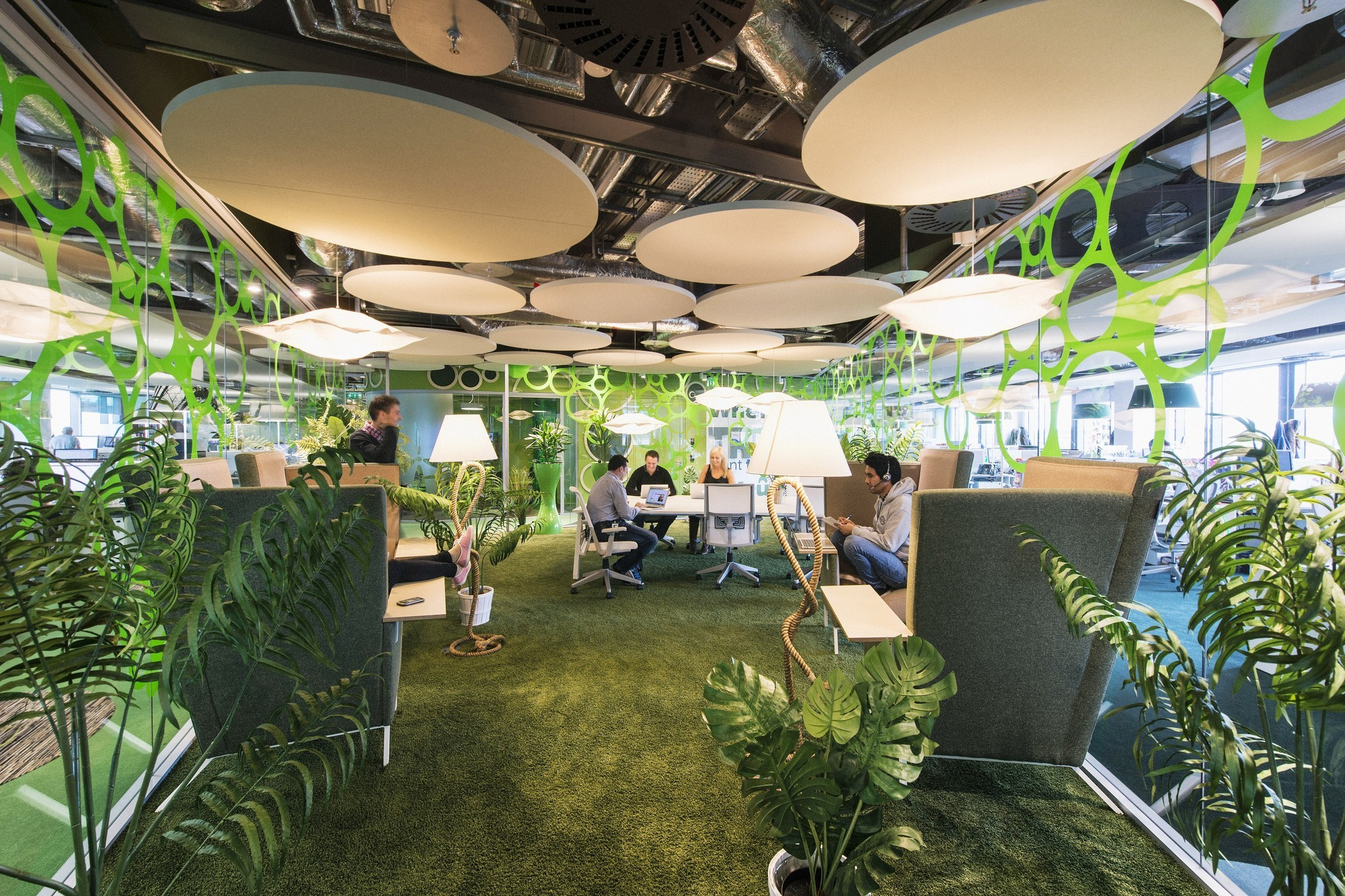 When one size does not fit all rethinking the open office for Employer espace vert