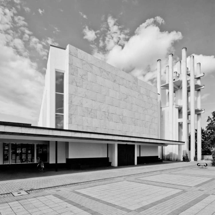 Em foco: Alvar Aalto, Stephanuskirche, 1968. © Samuel Ludwig