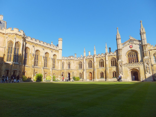 Cambridge University was ranked the UK's #1 architecture school in 2014. Image © Flickr CC User Mark Fosh