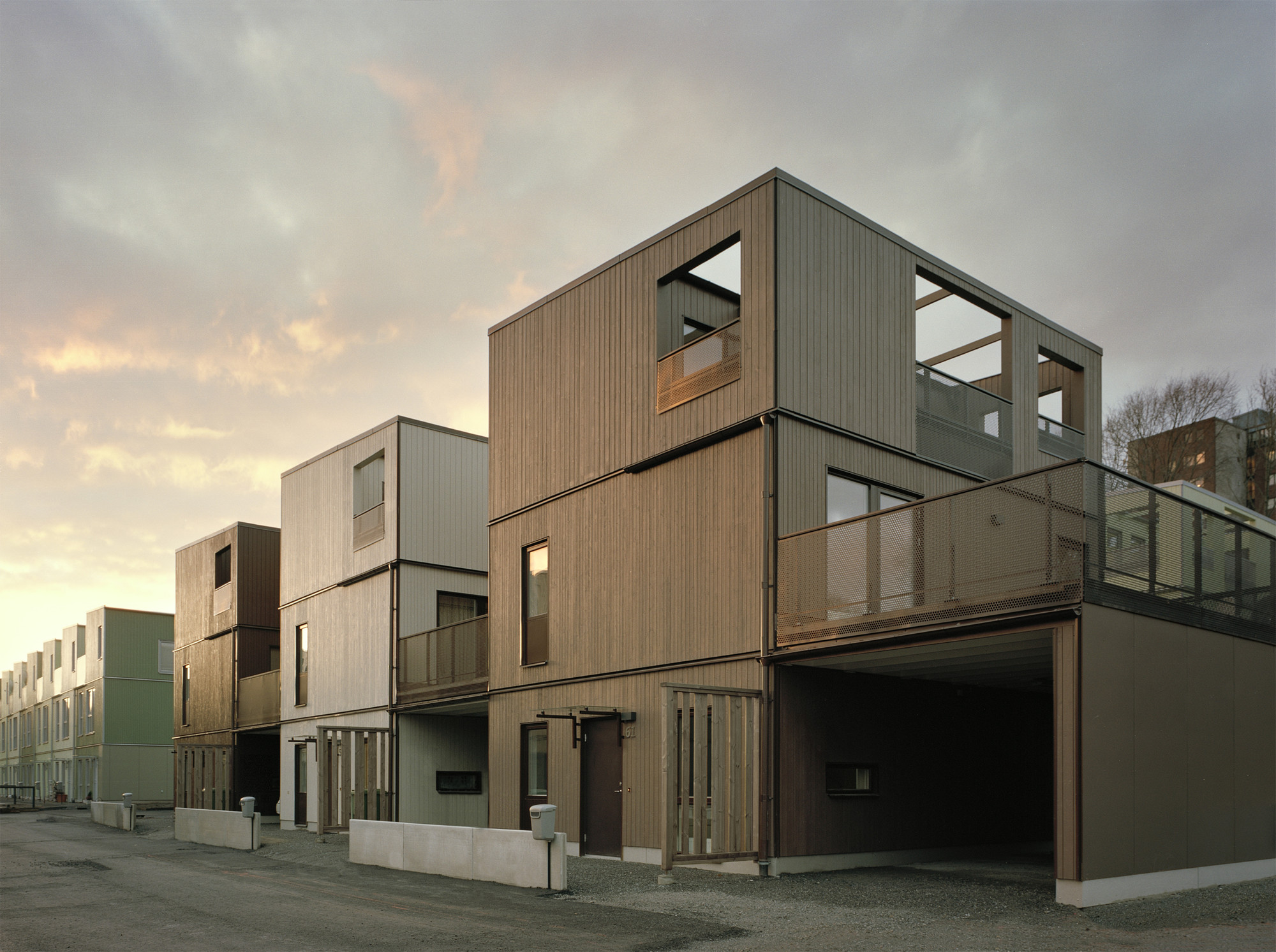 Terrazas Fittja / Kjellander + Sjöberg Architects , © Johan Fowelin