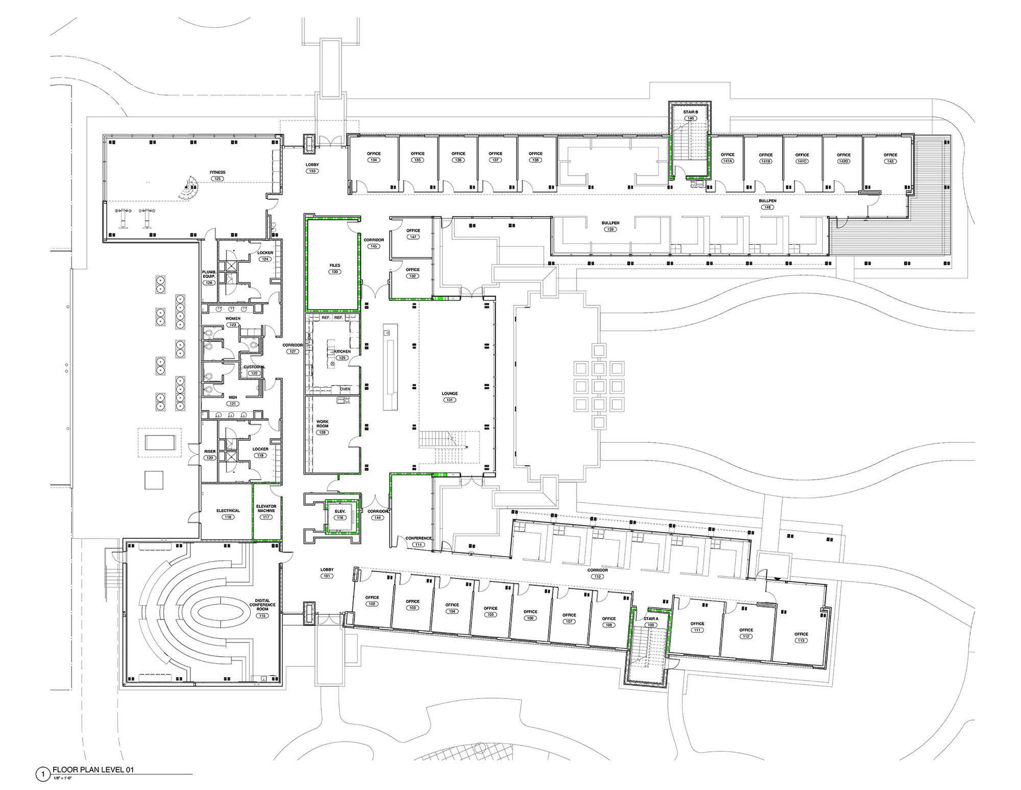 Gallery Of Live Oak Bank Headquarters Ls3p Associates 16