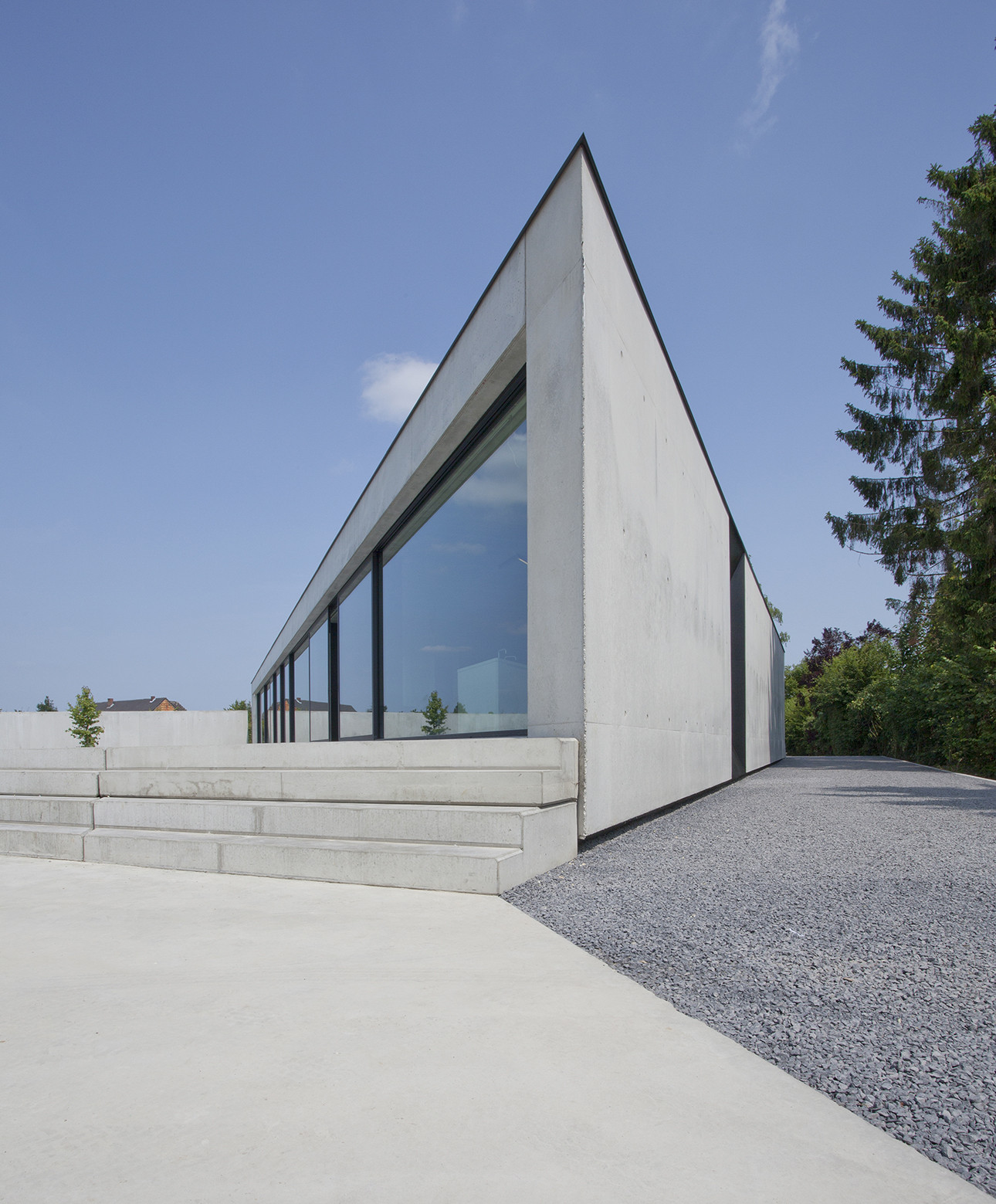 House Cm Sint Truiden Mass Architects Archdaily