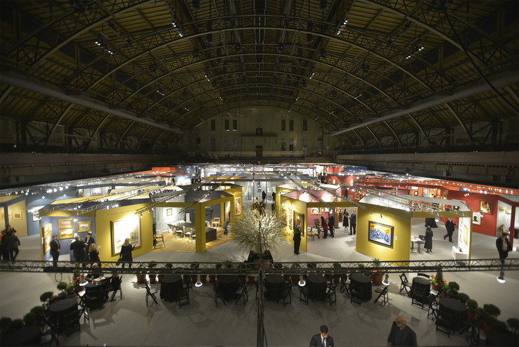 Experimento estrutural de Rafael Viñoly no Park Avenue Armory, em Nova Iorque, The Exhibition Space (updated February 2015). Image © Román Viñoly