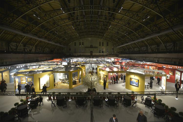 Experimento estrutural de Rafael Viñoly no Park Avenue Armory, em Nova Iorque, The Exhibition Space (updated February 2015). Image © Román Viñoly
