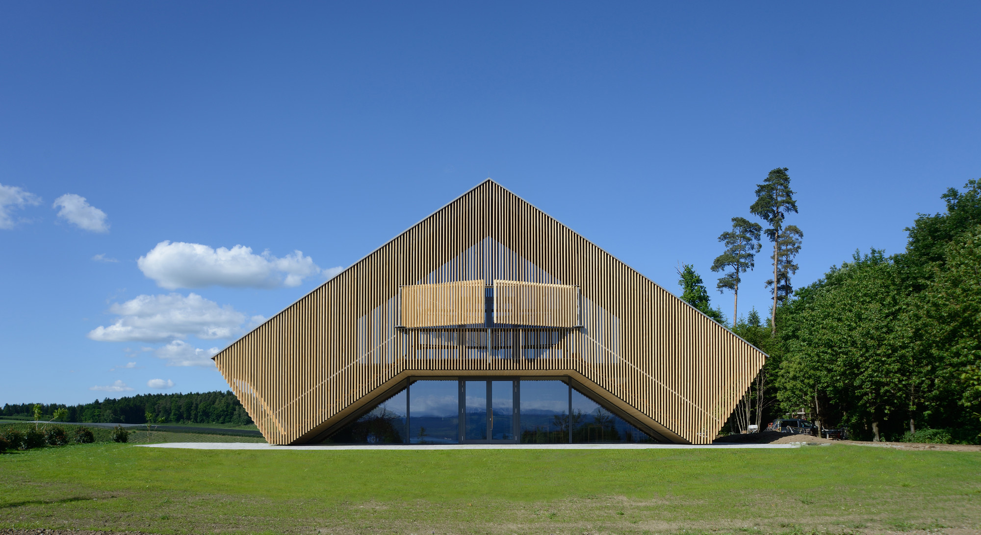 Wood Architecture: Gallery Of Wood Design & Building Magazine Announces