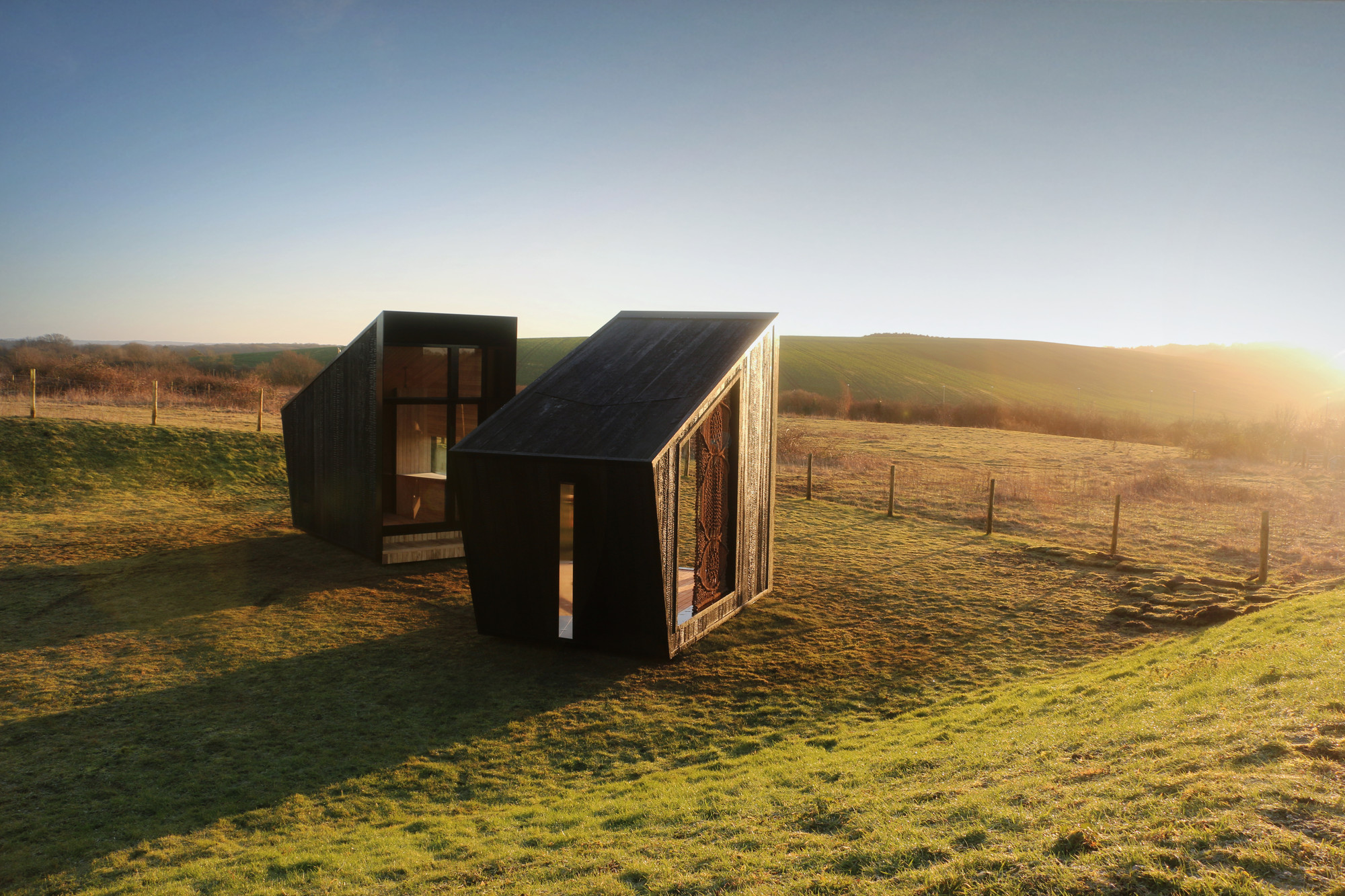 The Observatories: Micro-residência artística é oficialmente inaugurada no Reino Unido, © Feilden Clegg Bradley Studios