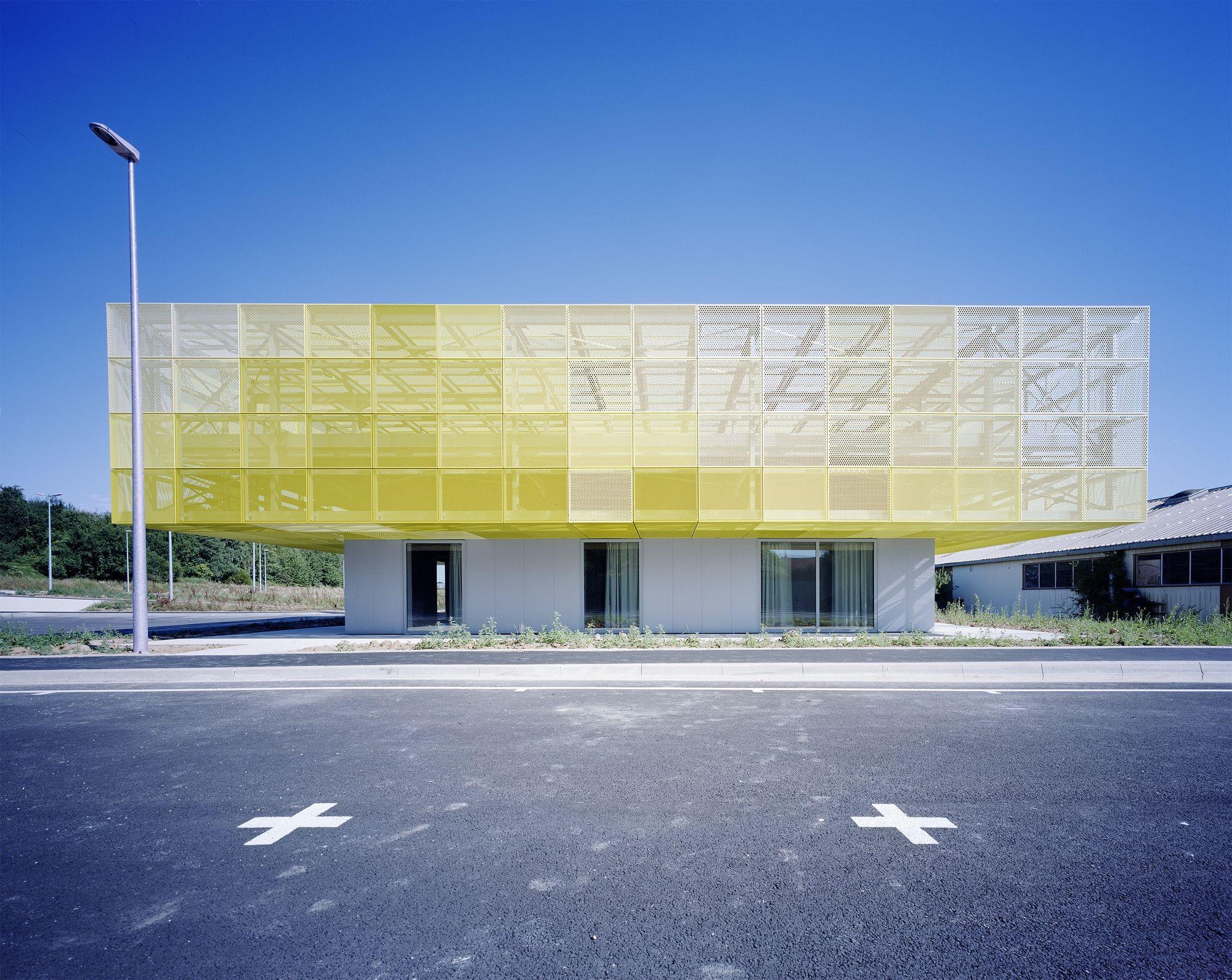 Ampliação do Lycée GeorGes-cormier / Ateliers O-S architectes, © Vincent Baur
