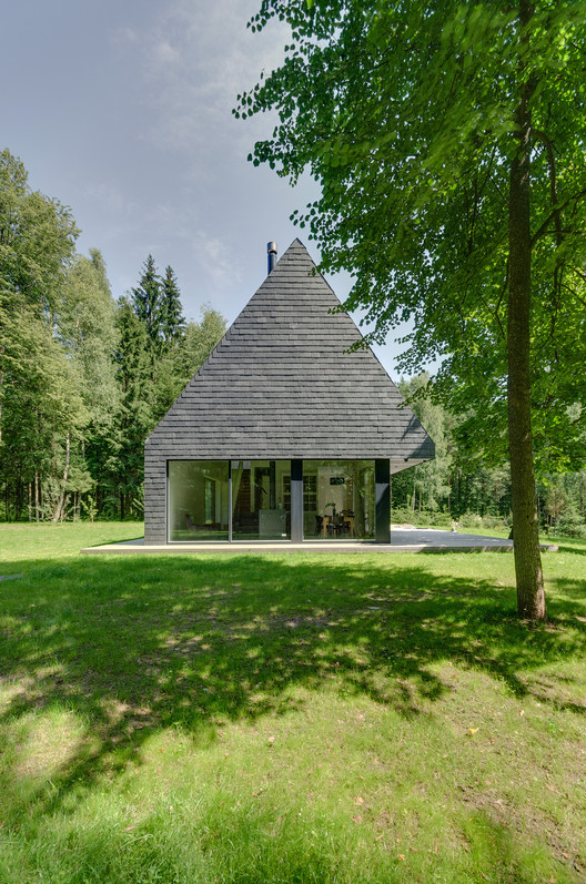House In Trakai / AKETURI ARCHITEKTAI, © Norbert Tukaj
