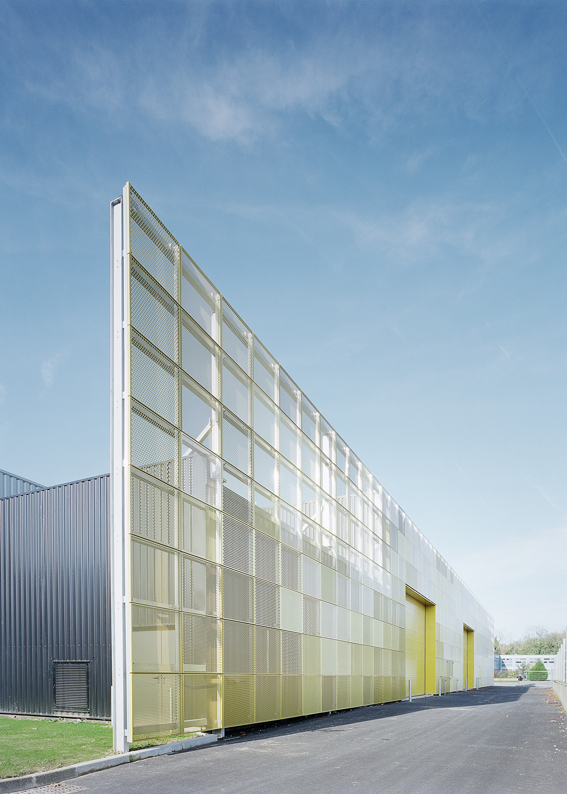 Gallery of lyc e georges cormier highschool extension for Extension architecte