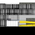 Fachada norte. Image Cortesia de A3 arquitetura.engenharia