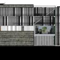 Fachada sul. Image Cortesia de A3 arquitetura.engenharia