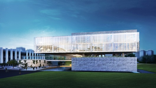 Vista externa. Image Cortesia de A3 arquitetura.engenharia