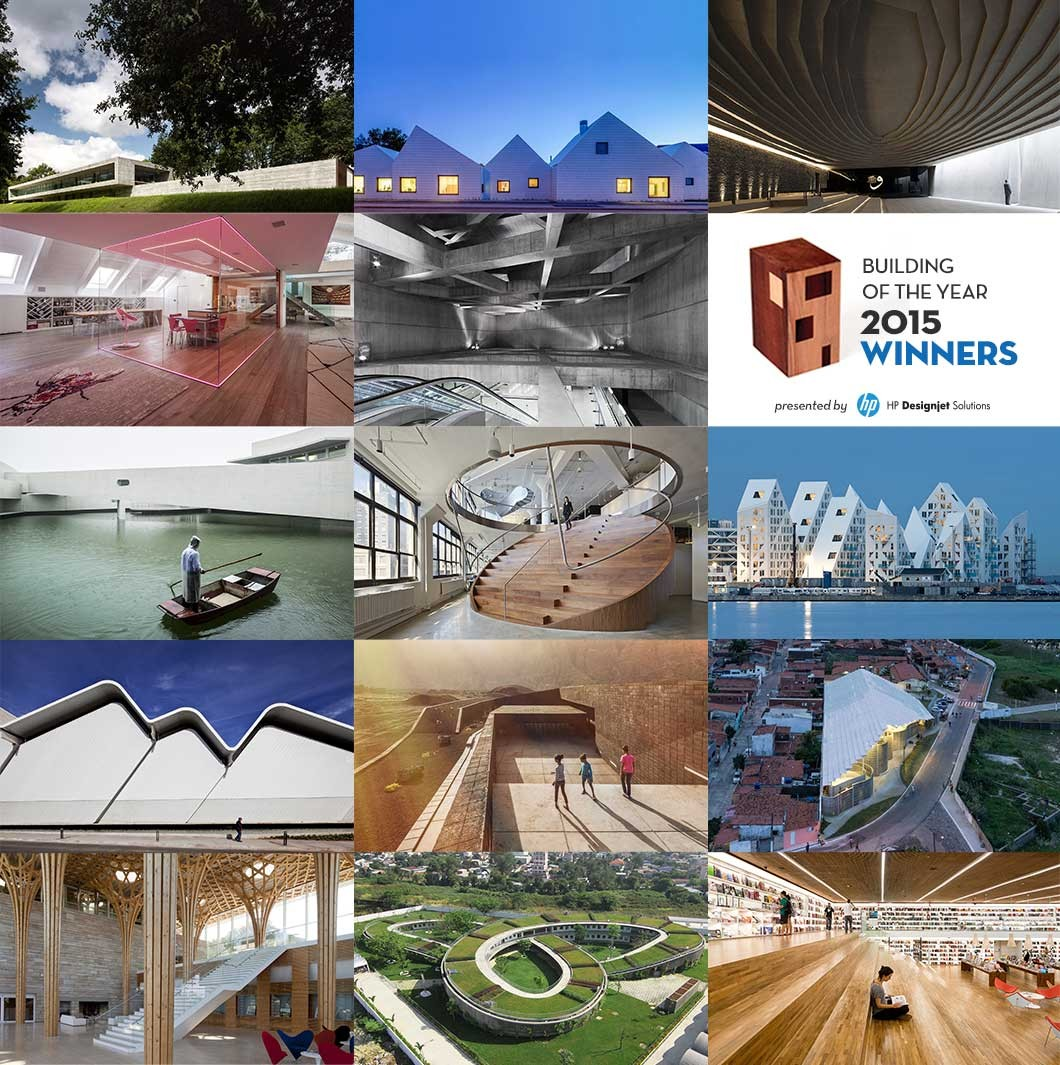 "Vencedores do ""2015 ArchDaily Building of the Year Awards"", © ArchDaily"