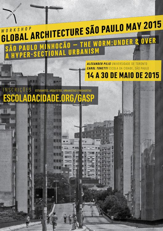 """Escola da Cidade promove estúdio """"Global Architecture São Paulo"""", Cortesia de Escola da Cidade"""