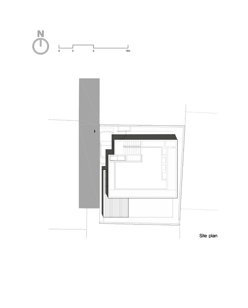 172m2 compact housesite plan