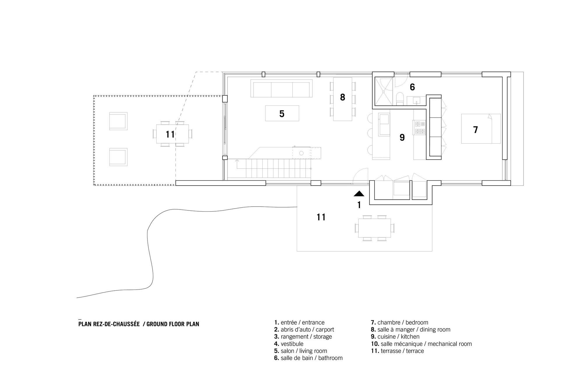 Bolton Residence,Ground Floor Plan