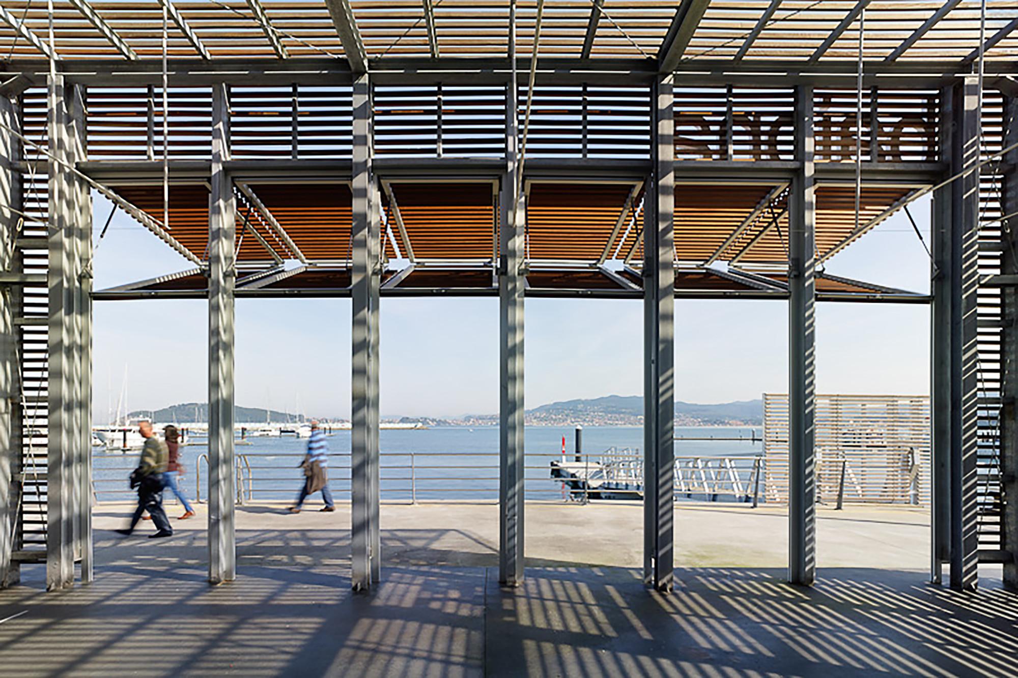 Estación Marítima en Baiona  / Santos y Mera Arquitectos S.L.P, © Santos-Díez  (Bisimages)
