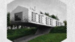 Arte y Arquitectura: PIXELA, cubos que representan iconos de arquitectura por Yannick Martin