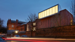 The Redevelopment Of The Whitworth / MUMA